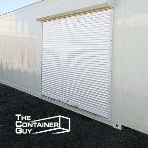 Roll Up Shutter Door 9 x 6 Shipping Container