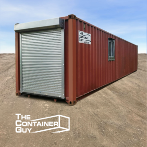 Roll Up Shutter Door Container Modification