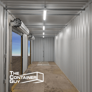 Shipping Container Electric Modification