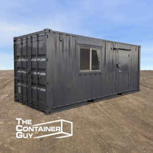 Shipping Container Office Modification
