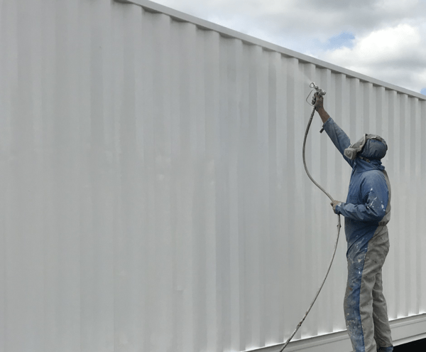 Shipping Container Painting