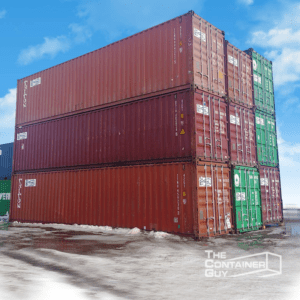 40' High Cube Shipping Containers
