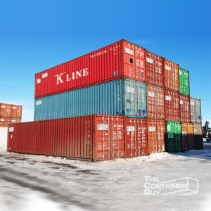 40' Standard used shipping containers