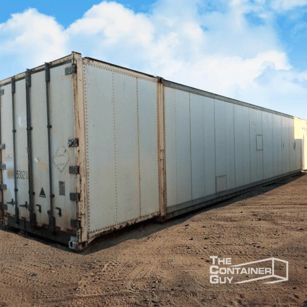 53 High Cube Aluminum Container
