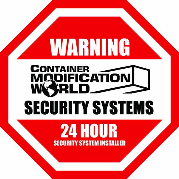 Shipping Container Security Sticker