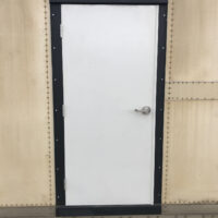 Shipping Container Man Door