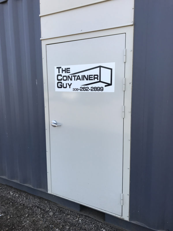 Container Man Door