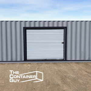 Shipping Container Roll Up Door Modification