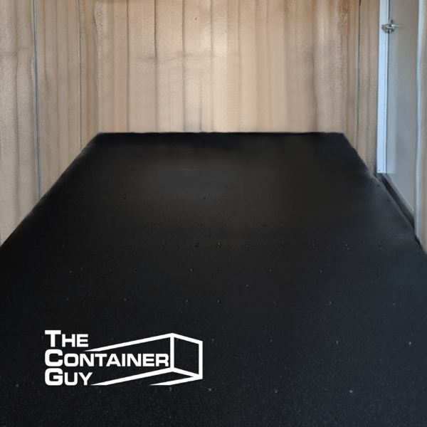 Rubberized Coating Shipping Container Saskatoon