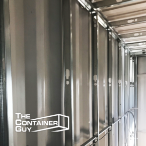 Steel Stud Framing Shipping Container