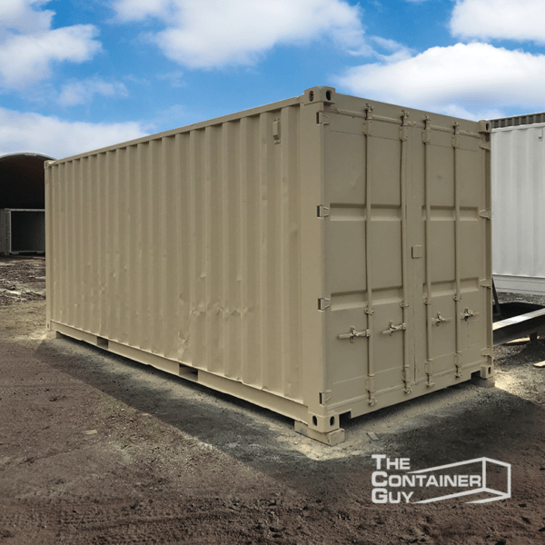 20' refurbished shipping container