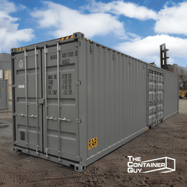 40 ft standard open side container