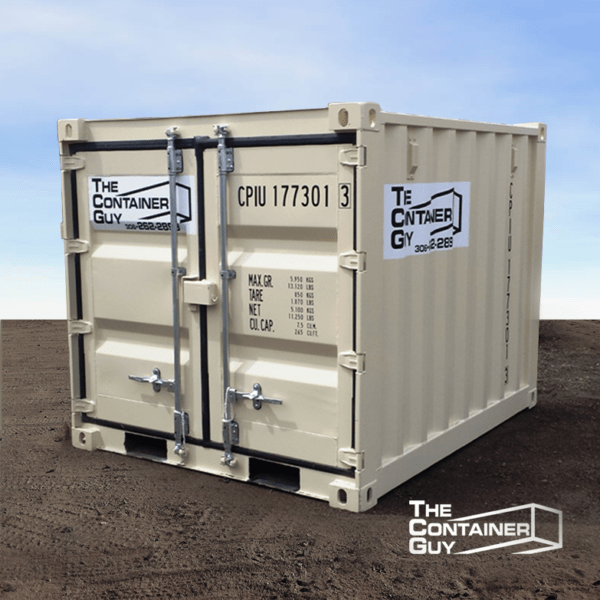 6' standard mini shipping container
