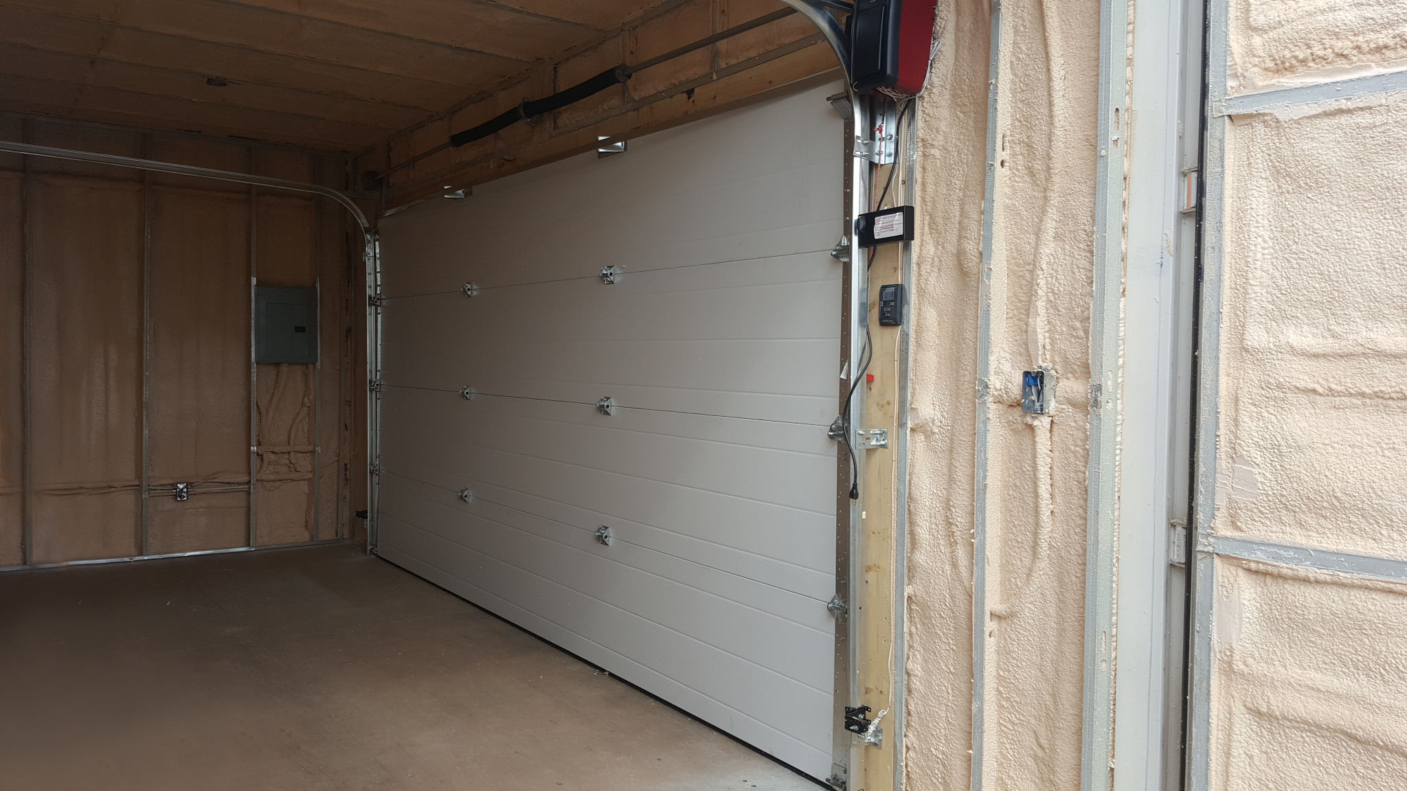 14' Insulated Overhead Door