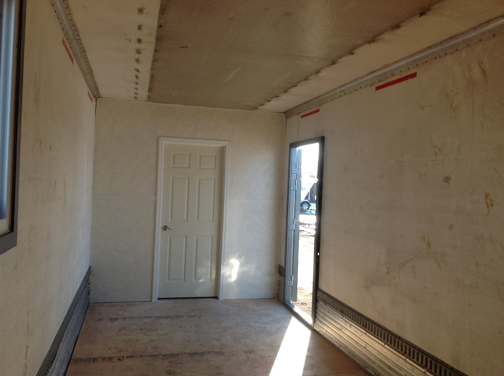 Partition Wall in 53' Ex Reefer