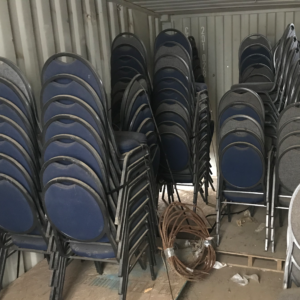 used banquet stacking chairs