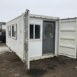 20 ft Split Container Site Office