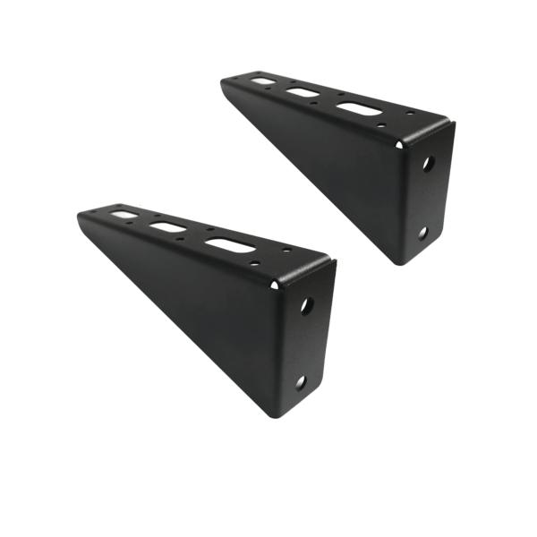 strut channel shelving brackets