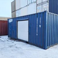 20 ft Shipping Container with Side Roll Up Door