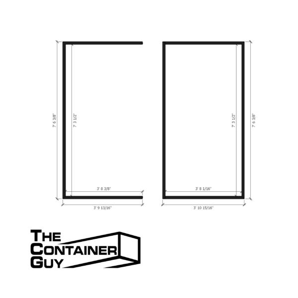 Standard Cube Door Gasket Seal