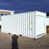 Container Doors Removed / Roll Up Door Installed