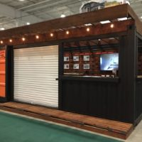Trade Show Display Booth / Patio / Bar