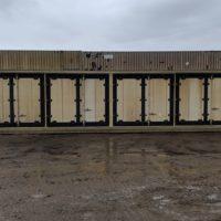 Insulated Folding Door HAZMAT