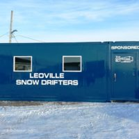 Snowmobile Warm Up Shack
