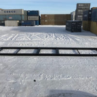 40 ft Container Skid