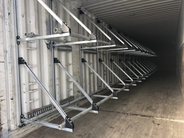 Shipping Container Tire Racks Sea Can Tire Racks