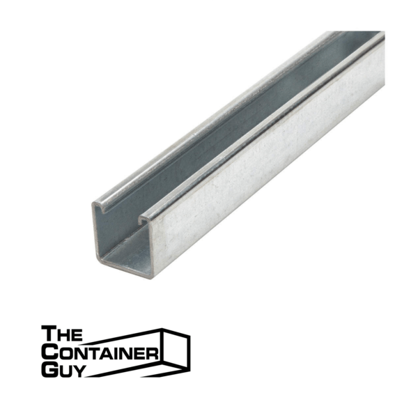 strut channels for shipping container