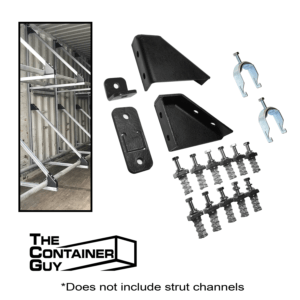 BOLT-ON TIRE RACK Kit for Shipping Containers