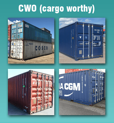 cargo worthy shipping containers canada