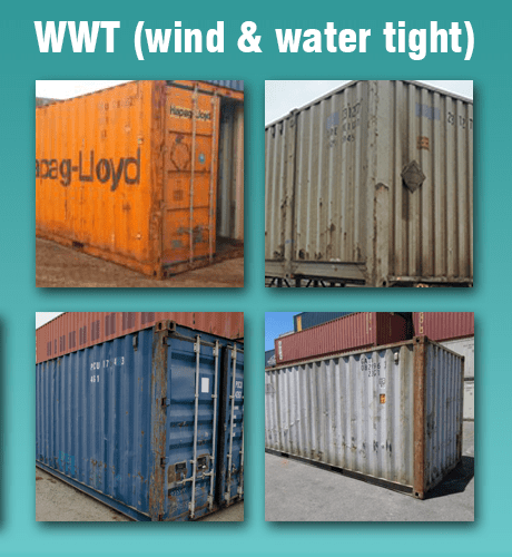 wind and water tight shipping containers canada