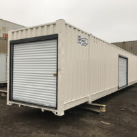 53 FT Refurbished with End Wall and Side Wall Roll Up Doors